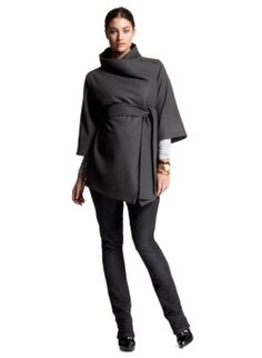 yeah it's Isabella Oliver.yeah its a maternity coat. no, i'm not expecting. Petite Maternity Clothes, Maternity Coat, Cute Maternity Outfits, Maternity Tees, Pregnancy Outfits, Maternity Fashion, Maternity Style, Maternity Jackets, Maternity Clothing