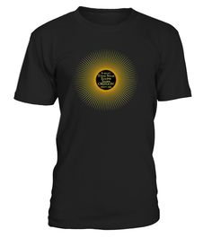 """Amazing that Salem OR will witness the great """"Path of Totality"""" on August 21, 2017 at 10:17 am! Here's a souvenir tee of this historic epic event!   Once-in-a-lifetime celestial display over Salem OR! And here is a shirt for eclipse parties, festivals, and to celebrate the grand solar experience in Oregon!"""