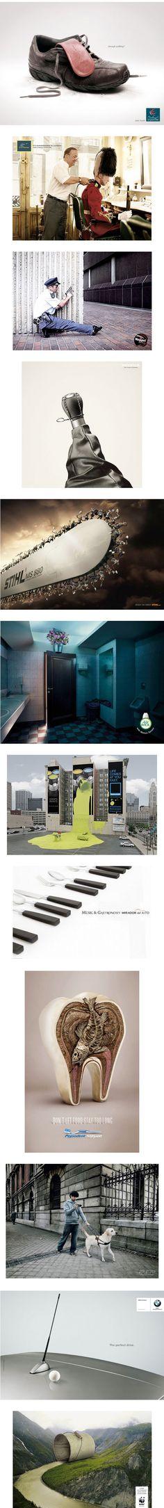 impresion de publicidad conceptual