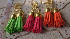 Desert Orange Faux Leather Short Length by JewelleryInspired4U