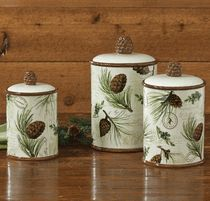 Walk in the Woods Canister Set - 3 pcs