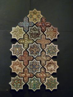 Islamic tile, The Louvre.