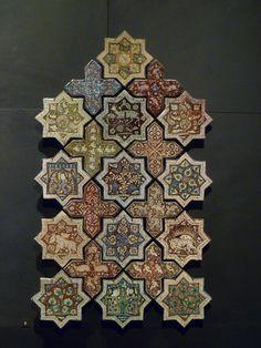 Islamic tile, The Louvre.
