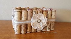 Make a beautiful basket from your left over wine corks. This is a quick and easy project will enhance  your decor. This is so cute and easy and all you need are…