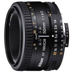 Nikon AF Nikkor 50mm f/1.8D Affordable, fast f/1.8 prime lens with manual aperture control. Offering natural image rendering and exceptional sharpness, the AF NIKKOR 50mm f/1.8D is a versatile, afford