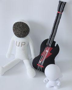 Shop online - Leggybuddy  #upollocrew #crochet #astronaut #spacemen #leggybuddy #handmade #handmadetoy #monochromatic #BW #rocketboy #upollotherocketboy #minimalistic #crochettoy