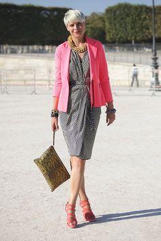 Paris Street Style: Spring 2012 Fashion Week | POPSUGAR Fashion