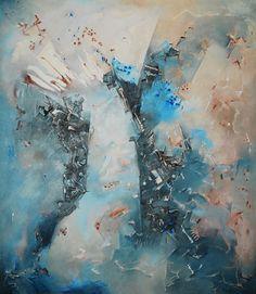 """""""El Universo esquivo"""" - Heriberto Zorrilla - Oleo y acrílico s/tela - 170 x 150 cm - 2007  www.esencialismo.com"""