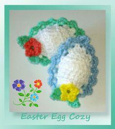 www.crochetmemories.com/blog - Free pattern for Easter egg cozies