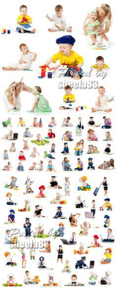 Stock Photo - Children, Kids, Babies