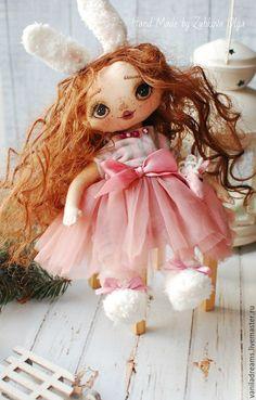 Adorable handmade doll by Olga Zubkova   Купить Кукла коллекционная Лилу - кукла, кукла ручной работы, кукла в подарок, кукла коллекционная