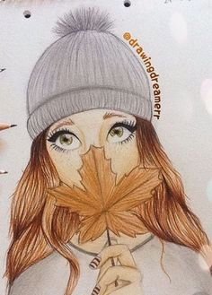 Fall drawings, pencil drawings of girls, pretty drawings, beautiful drawings, amazing drawings Fall Drawings, Bff Drawings, Pencil Art Drawings, Amazing Drawings, Art Drawings Sketches, Sketch Art, Beautiful Drawings, Amazing Art, Pretty Drawings