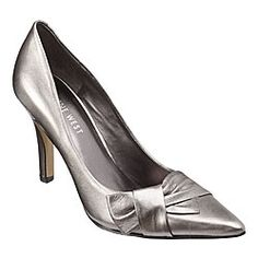 Silver shoes for Krista's wedding - 2.