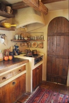 """voiceofnature: """"Fairytale like kitchen, see more here. """""""