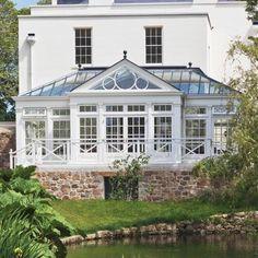 Georgian Mansion Conservatory