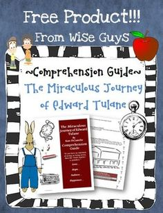 FREE The Miraculous Journey of Edward Tulane Comprehension Guide! Makes sure to download this amazing resource for your students!