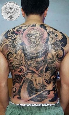 Thailand Tattoo, Thai Style, Asian, Tattoos, Thai Tattoo, Irezumi, Tattoo, Tattoo Illustration, A Tattoo