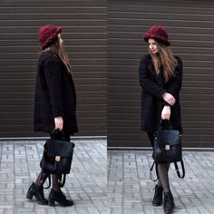 #knit #streetlook #street #coat       http://karambolia19.blogspot.com