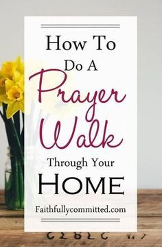 Prayer Walk through your home. Saturate your home with prayer through regular prayer walks! 30 Bible verses to pray over your home during a prayer walk Prayer Scriptures, Bible Prayers, Faith Prayer, My Prayer, Fervent Prayer, Scripture About Prayer, Quotes On Prayer, Faith Bible, Scripture Verses