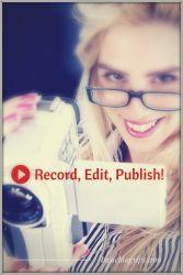 Record Edit Publish on YouTube