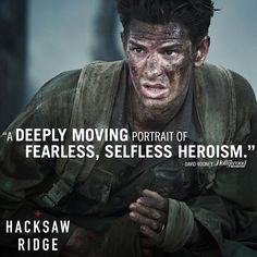 Critics are hailing #HacksawRidge as a must-see. In theaters November 4.