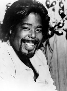 Barry White, the Maestro! There will never be another Barry White. One of a kind.