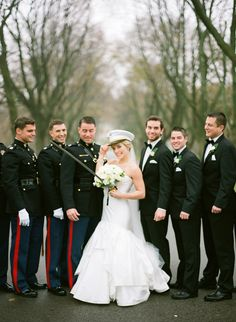 #military wedding on SMP.  Photography: The McCartneys Photography - www.meetthemccartneys.com  View entire slideshow: Salute to Military Weddings on http://www.stylemepretty.com/collection/295/