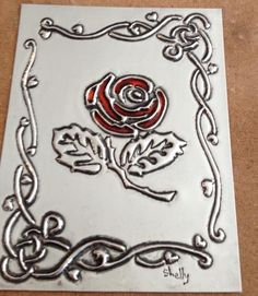 Made at The Pewter Room by Shelly www.thepewterroom.co.za