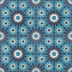 Moroccan Encaustic Cement Tile Pattern 23b