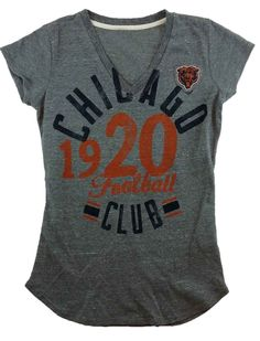 Vintage style Chicago Bears tee. End Zone Apparel · NFC North 9e8343fe2