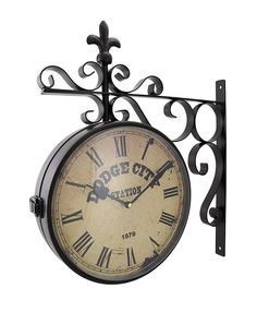 Awesome Two Sided Wall Clock