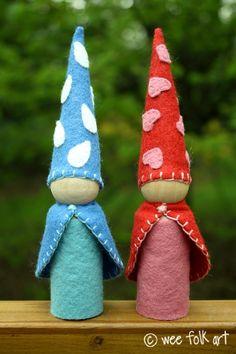 Large Gnomes for Little Hands | Wee Folk Art