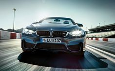 The BMW Convertible in Mineral Grey Metallic. Bmw M4, M4 Cabriolet, Diesel, Monospace, Marina Blue, Yellow Car, Landscape Wallpaper, Bmw Cars, M Color