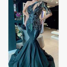 Mermiad Long Prom Dress With Train cg14789