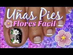 Uñas Elegantes y Sencillas/♥Decoración de Uñas Pies Elegante/♥Chic Feet Nail Decoration - YouTube Toe Nail Art, Toe Nails, Pedicure Nails, Manicure, Merry Christmas Gif, Red, Nail Designs, Nail Art, Perfect Nails
