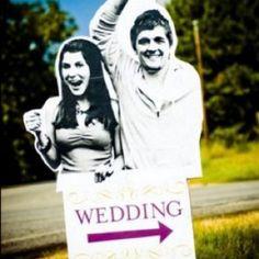 Adorable wedding sign!!