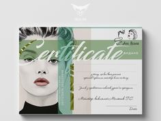 Certificate designed by Ann Green. the global community for designers and creative professionals. Art Certificate, Certificate Design Template, Graphic Design Posters, Graphic Design Illustration, Fashion Portfolio Layout, Coffee Poster, Layout Inspiration, Print Templates, Banner Design