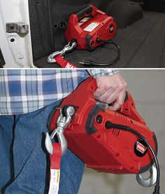 The Warn PullzAll is an electric pulling tool that replaces come-a-longs and chain falls. Now you can get the job done faster, with. Camping Tools, Camping Equipment, Tools And Equipment, Camping Gear, Power Winch, Kayak Storage Rack, Welding Training, Woodworking Power Tools, Woodworking Furniture