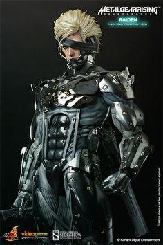 Metal Gear Rising: Revengeance Raiden 1/6 Scale Figure #metalgear alteregocomics.com