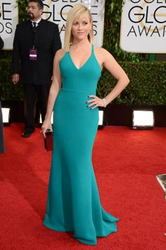 The Golden Globes 2014: Reese Witherspoon, Calvin Klein Collection, Harry Winston