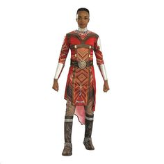 Marvel Black Panther Movie Wakanda Dora Milaje Extra-Small/small Adult Halloween Costume Multi - Made of high-quality, durable materials, the Dora Milaje Halloween Costume based on the blockbuster Marvel Black Panther Movie will make you feel authentically Wakandan. Dress up with friends and become a fierce all-female military regiment.