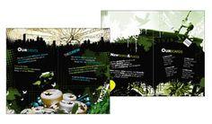 设计师亚历克斯·普拉达时尚折页设计