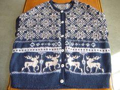 Ravelry: berylliantknits' Moonlight reindeer
