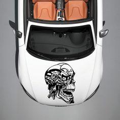 CAR HOOD VINYL STICKER DECALS GRAPHICS DESIGN ART SKULL MONSTER TATTOO SV4819