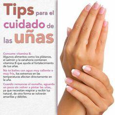 Tip para el cuidado de las uñas