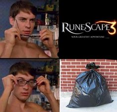 I accidentally logged into RS3 today