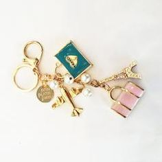 Keychain - Love to Fly - Love to Travel