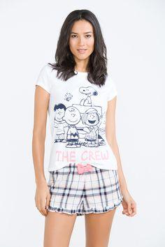 Women'secret - Short Snoopy graphic pyjama