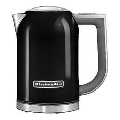 Kitchenaid 5KEK1722BOB The KitchenAid 3000w 1.7 Litre kettle has a sleek, steel body construction and a large 1.7 litre capacity ensuring you get style and optimum usage6 temperature settings ranging from 50 to 100 degrees  http://www.MightGet.com/may-2017-1/kitchenaid-5kek1722bob.asp