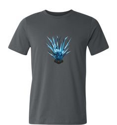 Lisk Growth Rays Cryptocurrency T Shirt